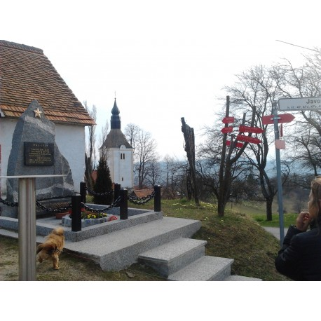 27. april 2017- proslava pri spomeniku NOB v Javorjah