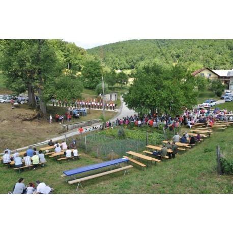 Srečanje borcev in aktivistov Kozjanskega,  Ložice, Krško