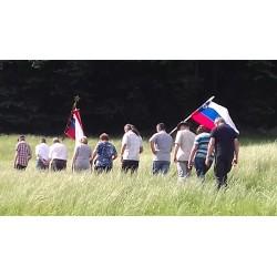 Pri padlem ruskem vojaku, borcu 14. divizije